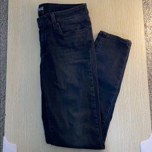 PAIGE Verdugo Ankle Black Skinny Jeans size 28